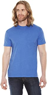 product image for American Apparel 50/50 Short Sleeve Tee (BB401) Heather Lake Blue, XS