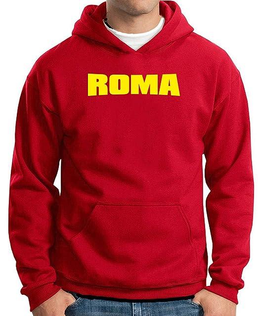 T-Shirtshock - Sudadera Hoodie T0081 roma calcio ultras, Talla XXL: Amazon.es: Ropa y accesorios