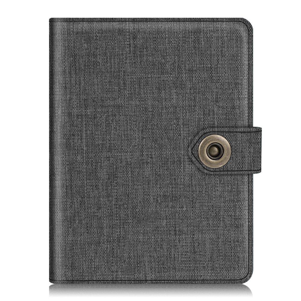 956f194584d5 Fintie Passport Holder Cover Case, Premium fabric RFID Blocking Travel  Wallet with Snap Closure, Denim Charcoal