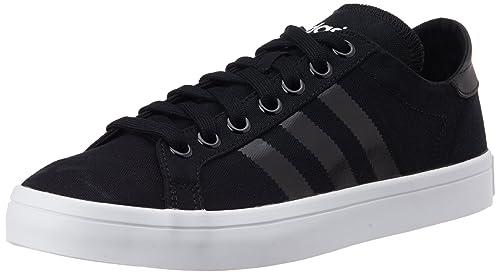 new arrival c2416 3f8f6 Adidas Courtvantage S78767, Scarpe da Basket Uomo, Multicolore  (CblackCblackFtwwht