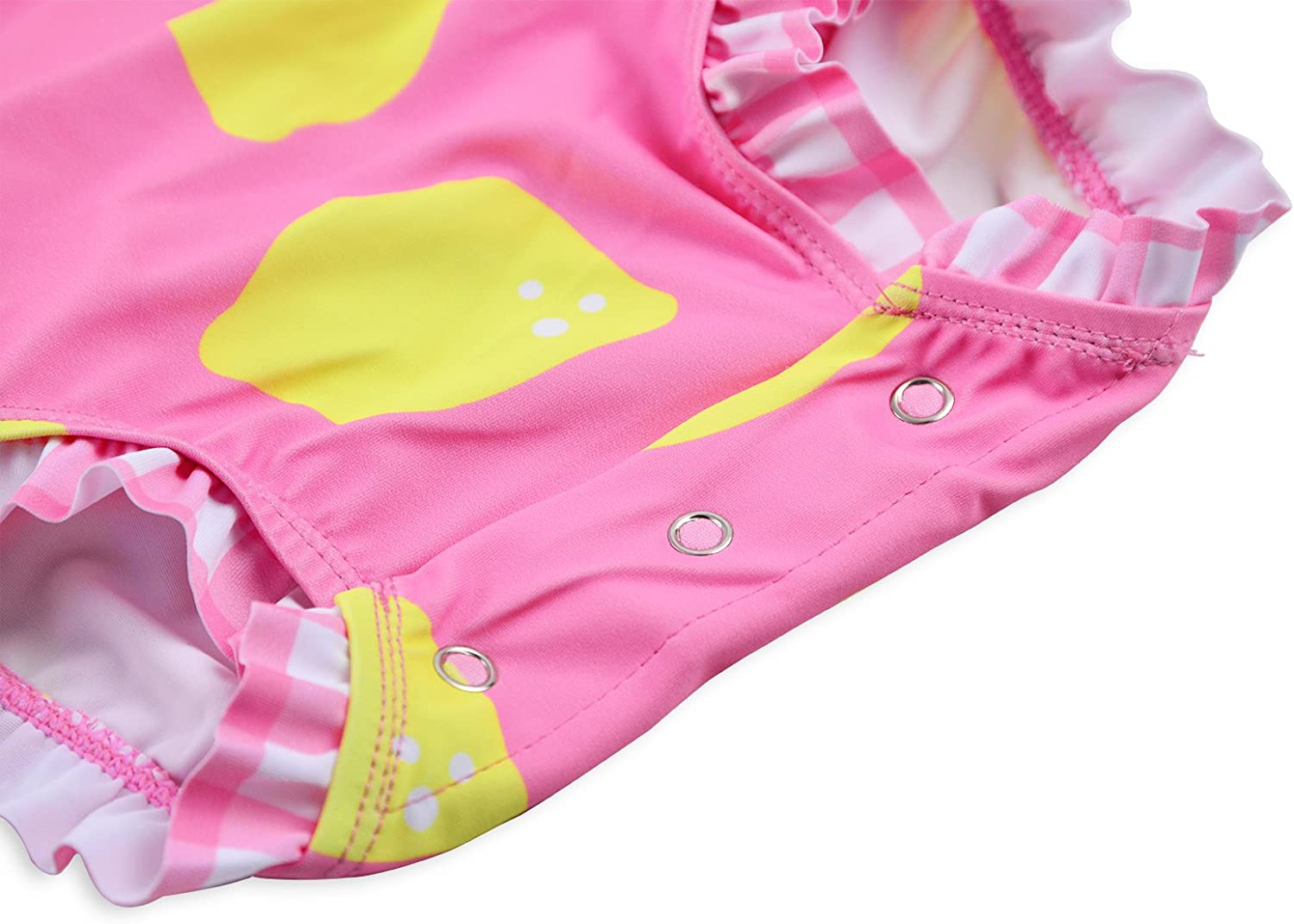 Long Sleeve Rash Guard One Piece Swimsuit for Girls Baby Toddler Girl Swimming Suit with UV40 Sun Protection