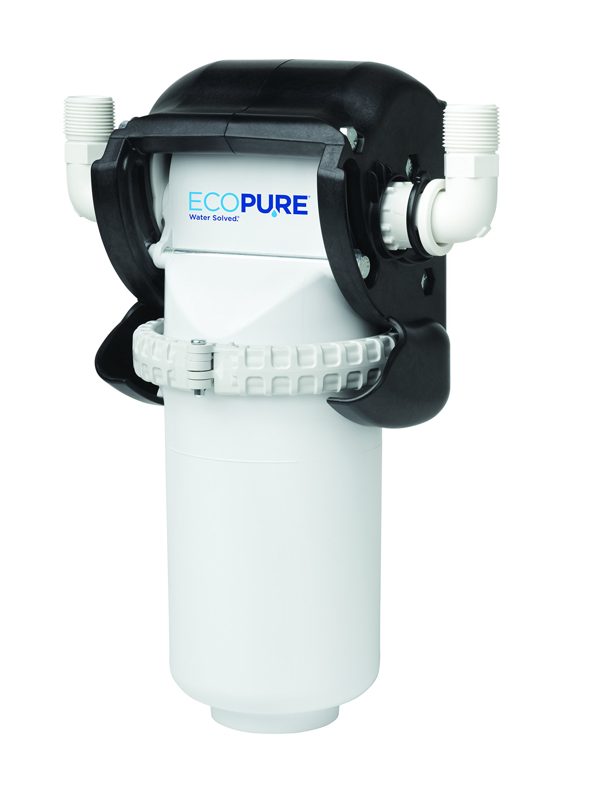 EcoPure EPWHE No Mess Whole Home Water Filtration System - New Innovation - NSF Certified - Built in the USA - Designed to Last