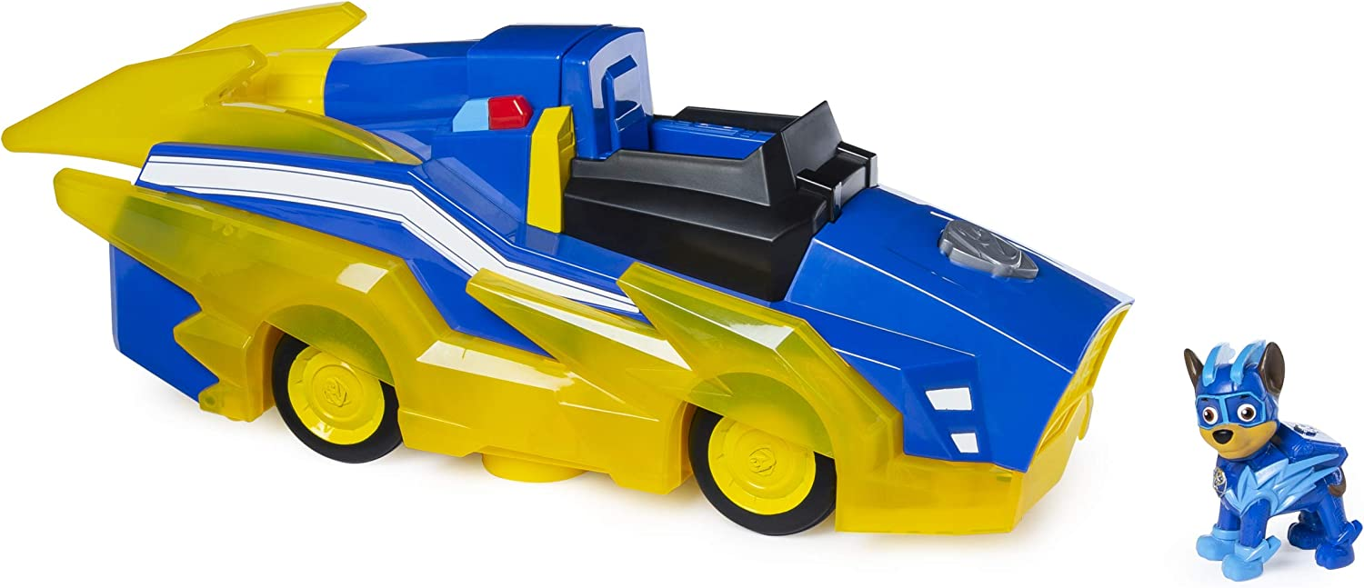 PAW Patrol Mighty Pups Charged Up Chase Deluxe Vehicle