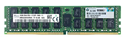 Hynix 16Gb 1X16gb DDR4 PC4-17000 2133Mhz Ecc Registered Server Memory Model HMA42GR7AFR4N-TF Components at amazon