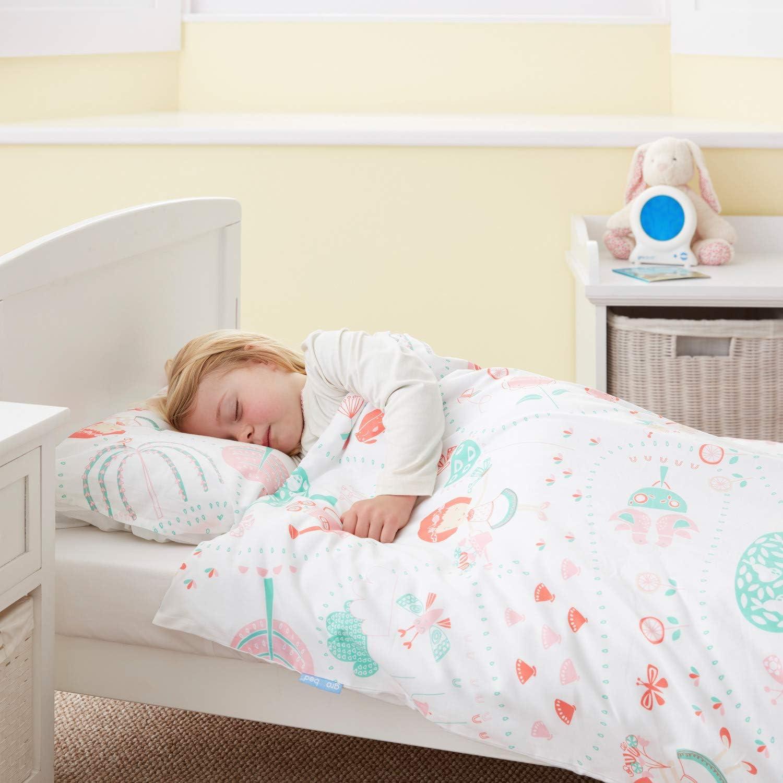 Cama individual Tommee Tippee GRO Conjunto de cama Gro-to-bed Ballenas