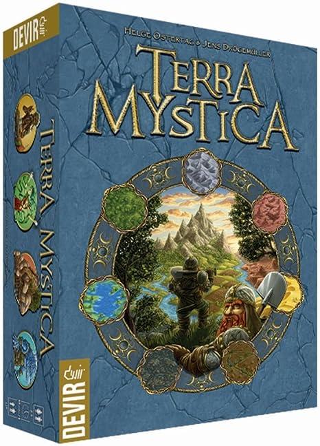 Devir - Terra Mystica, juego de mesa (222562) , color/modelo surtido: Amazon.es: Juguetes y juegos