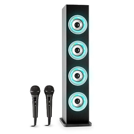 37 opinioni per auna Karaboom Cassa Karaoke a torre con sistema bluetooth e connessione USB (4