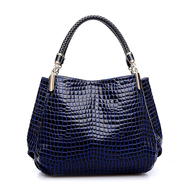 Fanala Women Leather Pattern Handbag Shoulder Bag Female Tote Sac Crocodile Bag