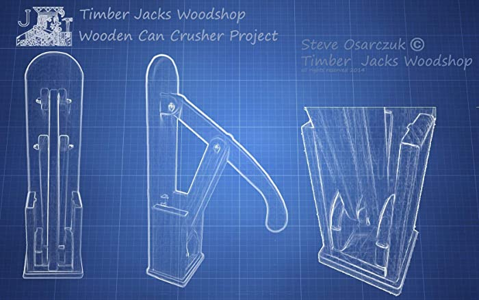 Amazoncom Wooden Can Crusher Project Plans Handmade