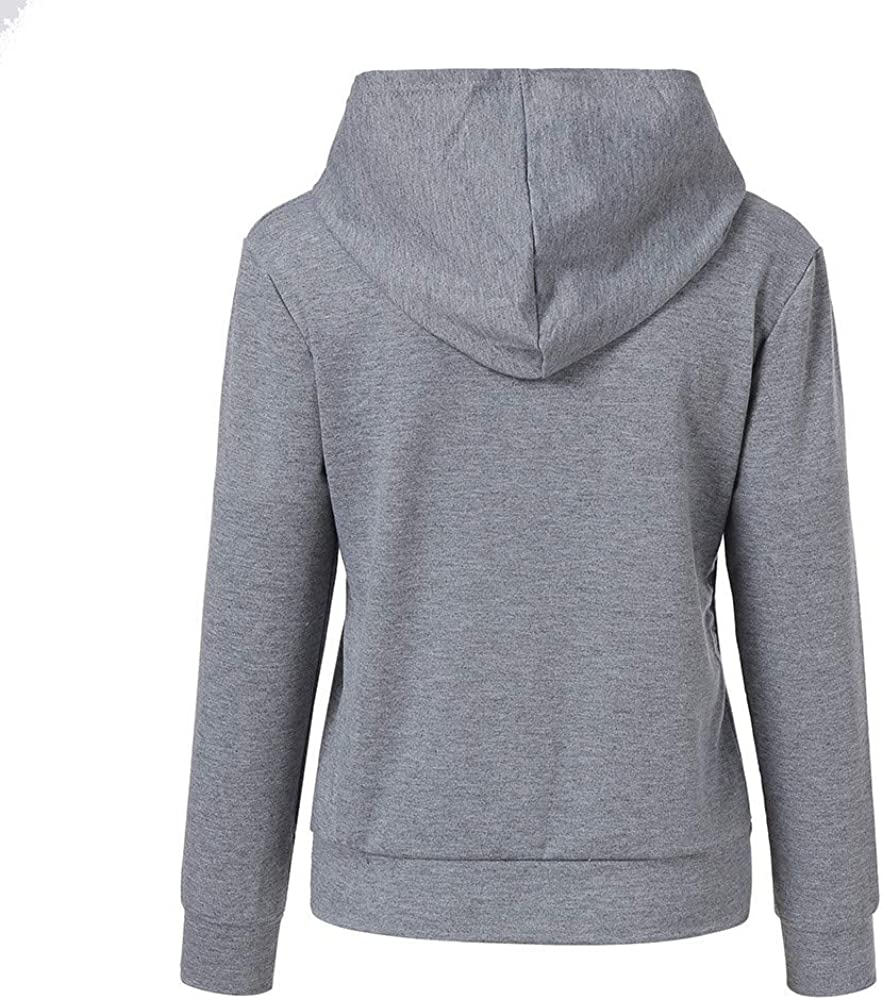 XL, Gray Tronet Mommy and Me Winter Family Clothes Long Sleeves Letter Print Hooded Sweater Parent-Child Tops