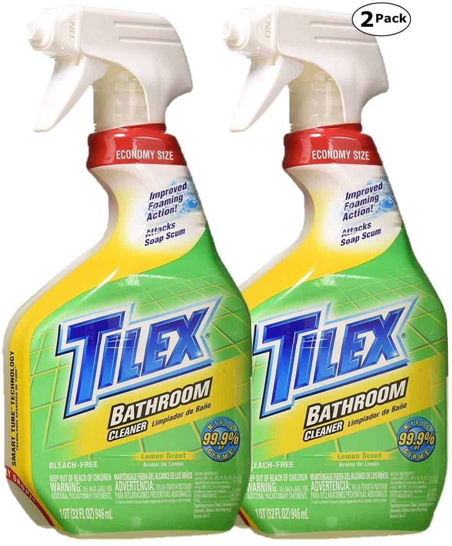 Clorox Plus Tilex - Limpiador de baño, botella de spray, aroma de limón: Amazon.es: Hogar