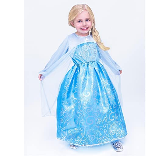 41f21adde Amazon.com  Charades Ice Queen Child Costume  Toys   Games