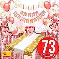 "Decoracion Cumpleaños - Pack Incluye Pancarta"" Feliz Cumpleaños"""
