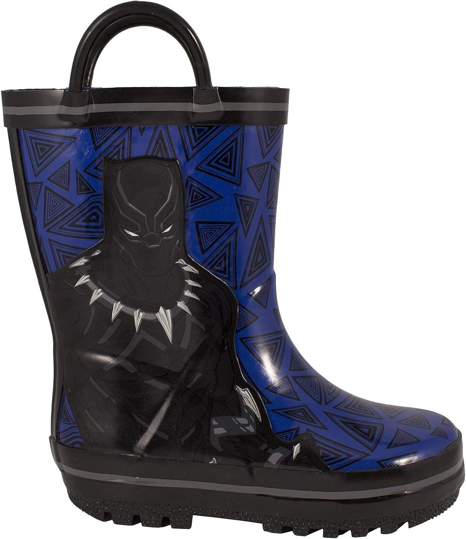 Marvel Boys Avengers Rain Boots Toddler//Little Kid Blue