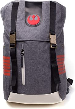 Bioworld Mochila, Color Grey (Star Wars: The Last Jedi BP505012STW)
