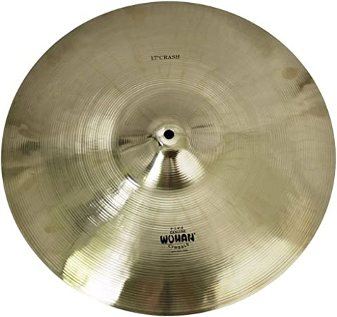 "Wuhan Medium Thin Crash Cymbal 17/"" Video Demo"