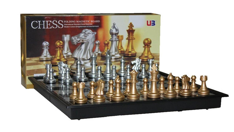 新着 Sistong Cherry Deluxe Sistong Folding Megnetic Chess Chess Set Deluxe B01N2L0JJ7, モノウチョウ:f523c1c9 --- cygne.mdxdemo.com