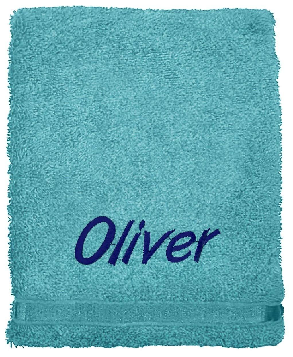 Juego de toallas bordadas personalizadas, ideal para regalo. Ponga cualquier nombre | Toalla de cara | Toalla de manos | Toalla de ducha | Toalla de baño ...