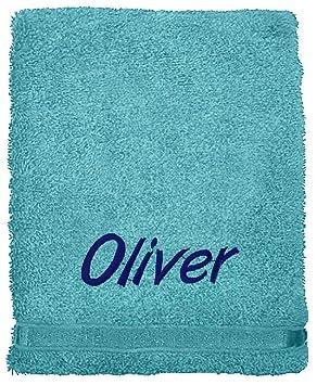 Juego de toallas bordadas personalizadas, ideal para regalo. Ponga cualquier nombre | Toalla de cara | Toalla de manos ...