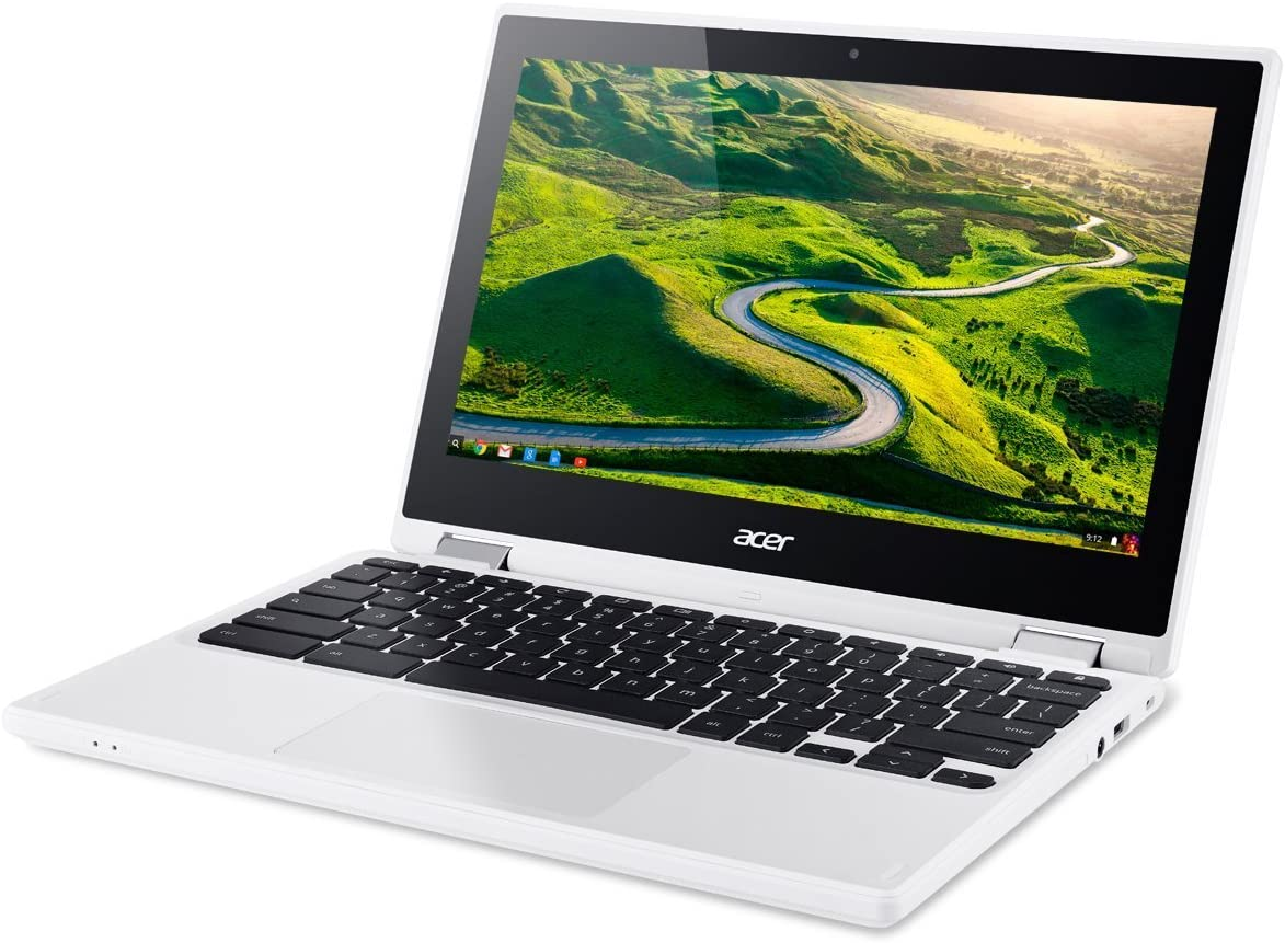 Acer R11 Convertible 2-in-1 Chromebook, 11.6in HD Touchscreen, Intel Quad-Core N3150 1.6Ghz, 2GB Memory, 32GB SSD, Bluetooth, Webcam, Chrome OS (Renewed)