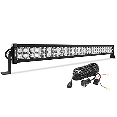 "LED Light Bar 32"" 400W 28500LM OEDRO Upgraded Spot & Flood Combo Beam with 8ft Wiring Harness IP68 WATERPROOF Fog Driving Offroad Fit for Pickup Boat Jeep SUV ATV Truck Light Bar, 3-Yr Warranty: Automotive"