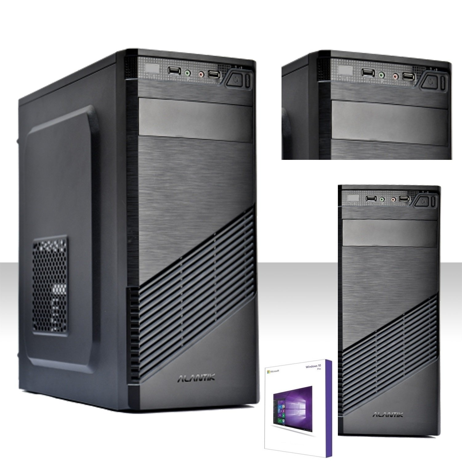 PC Desktop Intel Quad-core Win 10 Pro HD 1TB/RAM 8 GB DDR3