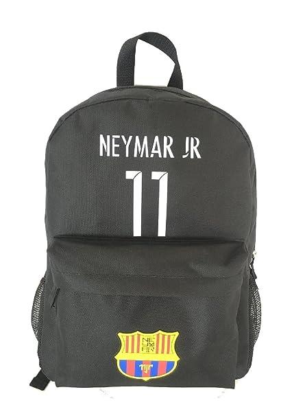 Forever Fanatics Neymar Jr #11 Soccer Backpack Brazil Barcelona Brasil PSG World Cup✓ Premium Unique School Bag ✓ Perfect Gift for Neymar Jr #11 Soccer ...