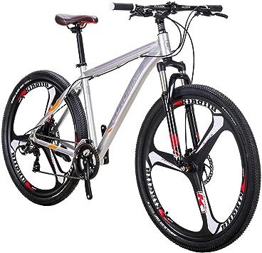 Eurobike Man Mountain Bike X9 - Ruedas de Freno de Disco Doble (29 ...