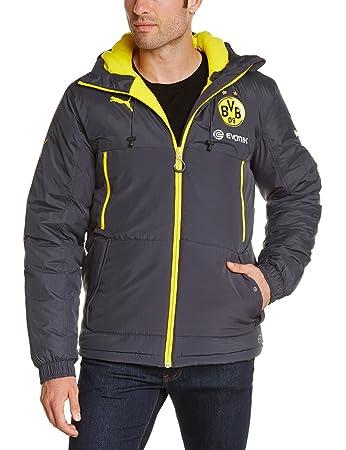 Jacket Bvb Sponsor With Herren Bench Puma Jacke 9HeWIY2ED
