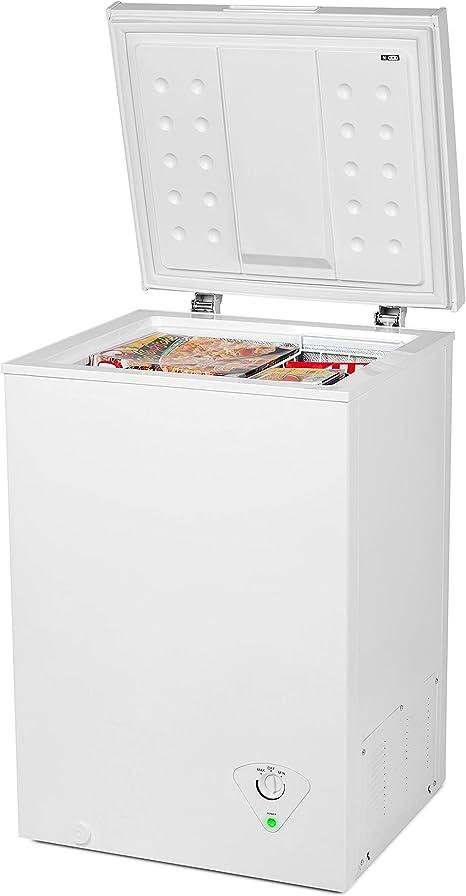 Medion MD 37276 congelador./99 L Capacidad/cesta de metal/ahorra ...