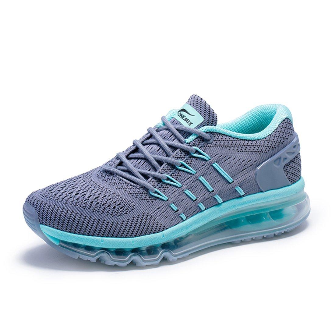 ONEMIX Sneakers Leggere da Donna - Scarpe da Corsa con Cuscino d'Aria in Mesh Traspirante A Disegno Speciale Tongue