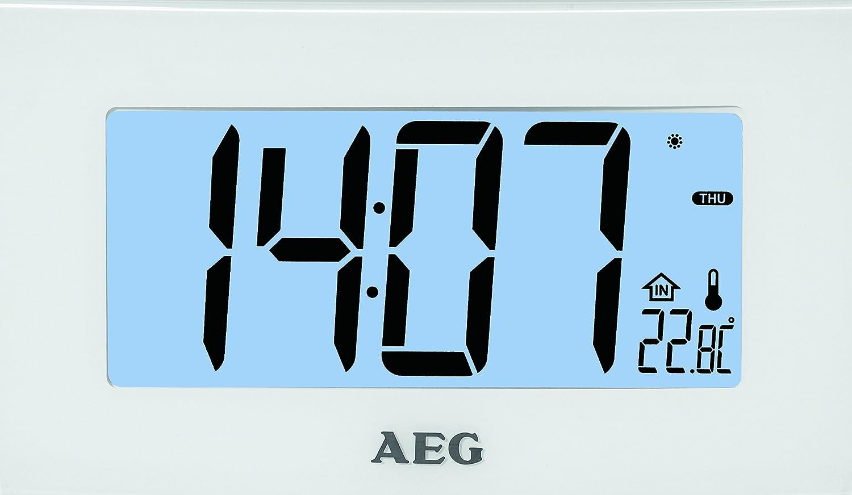 AEG MRC 4119 P – Reloj de proyección Radio: Amazon.es: Electrónica