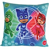 Fun House 712812 pyjamasques cojín Cuadrado Lamboa Imprime Azul 35 x 35 x 15 cm