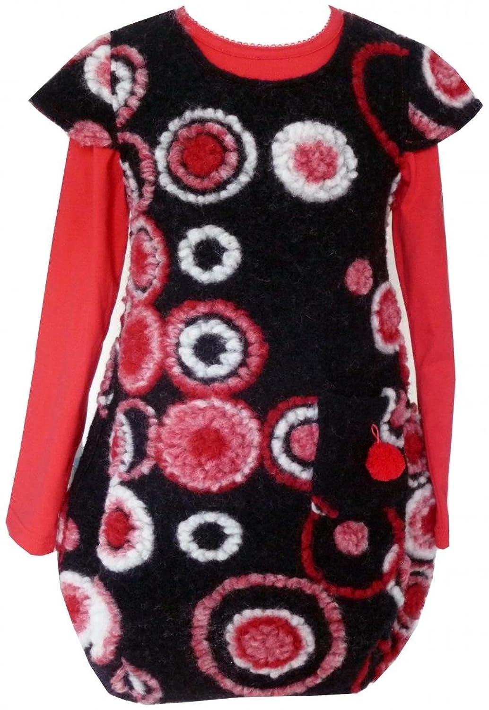 Trocadero - Mode für Kinder - Robe - À Pois - Manches Courtes - Fille