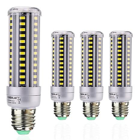 4x Bombillas LED E27 15W Maíz luz - Mazorca Luz LED lampara Equivalentes a 120W,