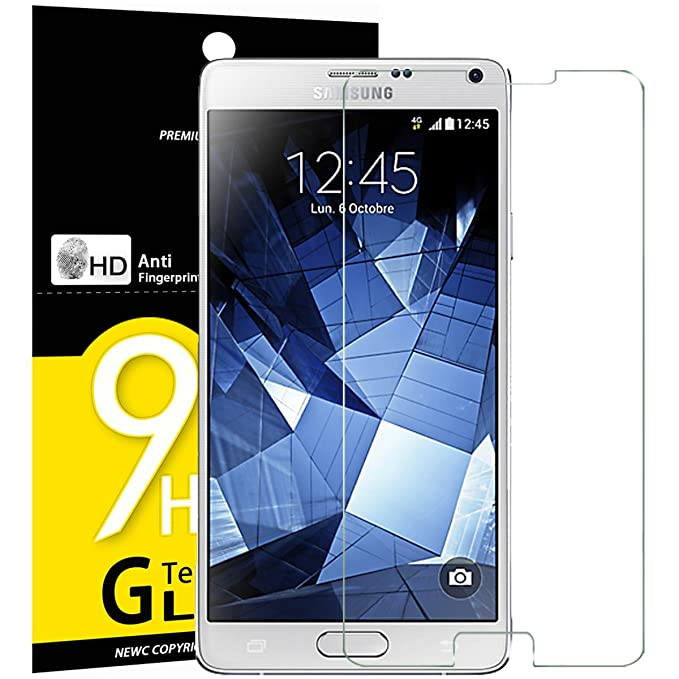 NEW C Verre Trempé pour Samsung Galaxy Note 4, Film Protection écran   Amazon.fr  High-tech ba6bbaff5a6d