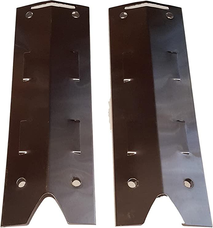810-2411-S 810-3885-S Grill Replacement Parts Replacement Stainless Steel Heat Tent Shield BBQ Flame Tamer for Brinkmann Gas Grills Set of 4 Grill Heat Plates for Brinkman Brinkmann 810-2410-S