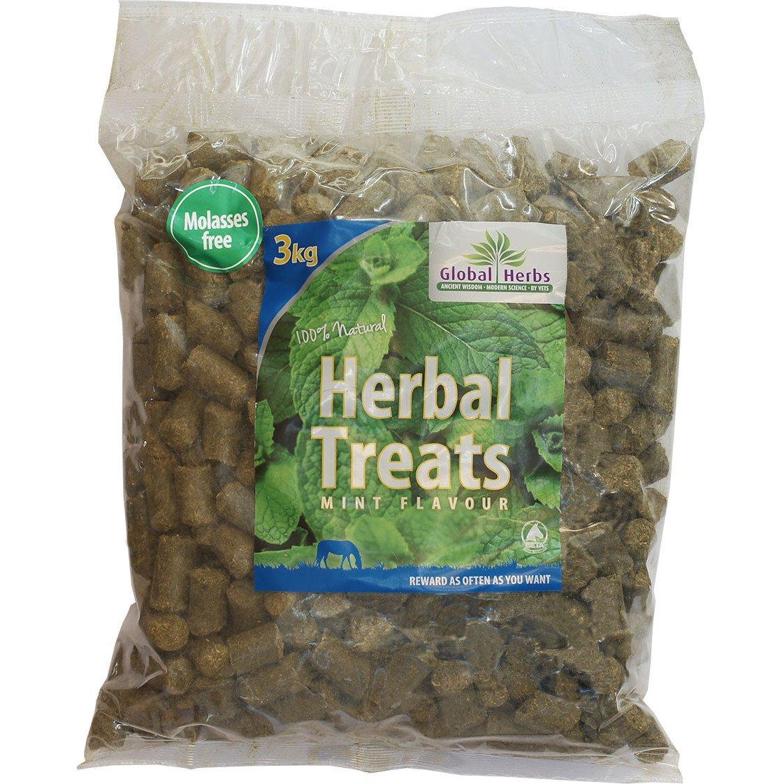 Global Herbs Herbal Mint 3kg Horse Treats 3kg Brown by 3L Global Herbs (Image #1)