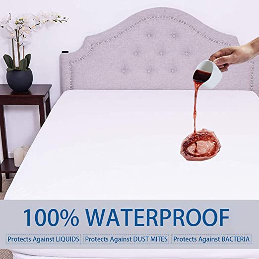 Best Waterproof Mattress Protector Fitted Matress Bed Cover Hypoallergenic Full