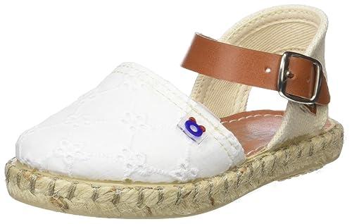 Conguitos HVS14501, Alpargatas para Bebés, Blanco (White), 26 EU: Amazon.es: Zapatos y complementos