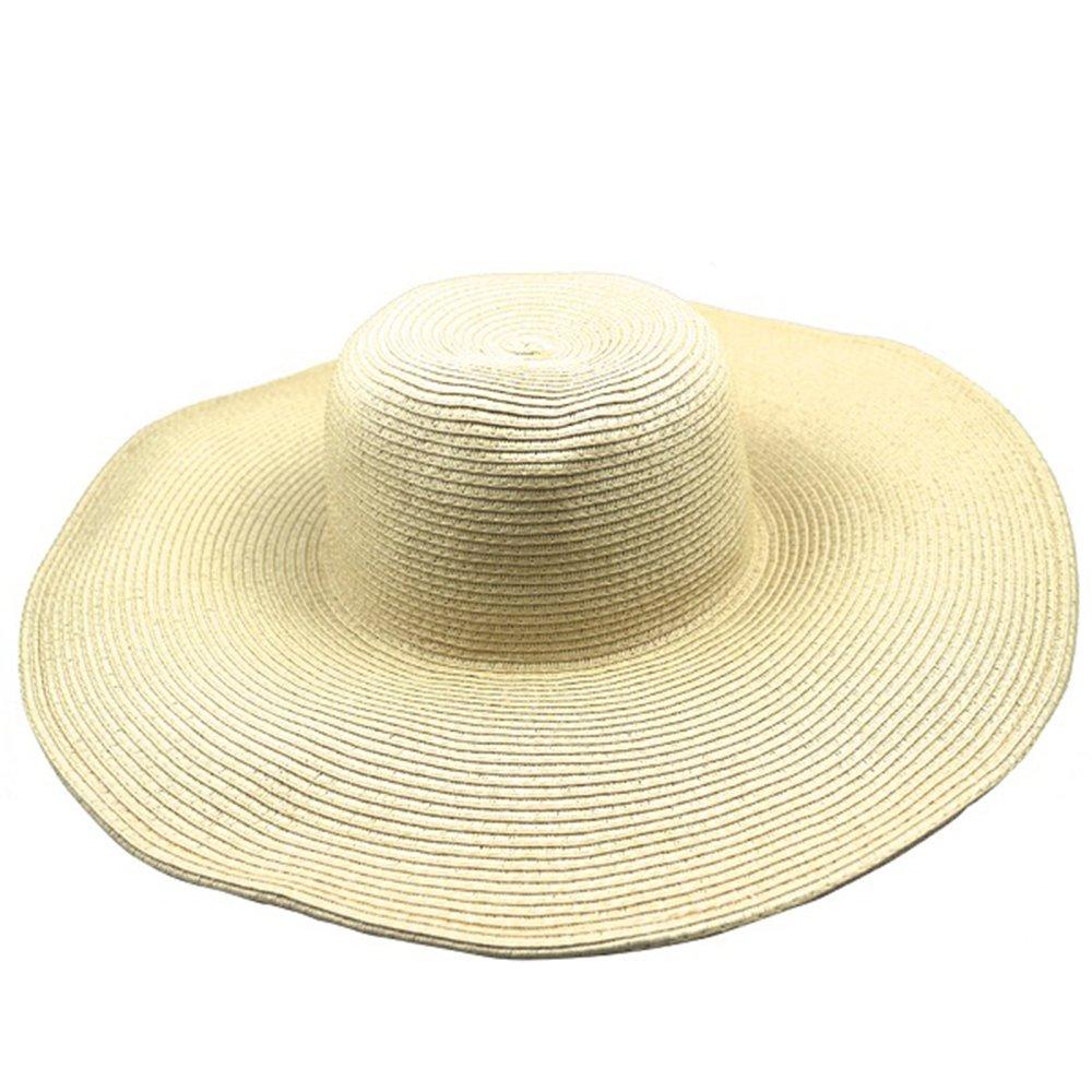 f14a4ac5ea0 Amazon.com  LOVEHATS Women s White Hat Summer Black Oversized Sunbonnet  Beach Cap Women s Strawhat Sun Hat Summer Hat Beige  Sports   Outdoors