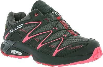 Salomon XT Salta Gore-Tex Guantes Mujer Trail Running – Zapatos de Deporte Guantes Gris 381429, Color Negro, Talla 36: Amazon.es: Zapatos y complementos