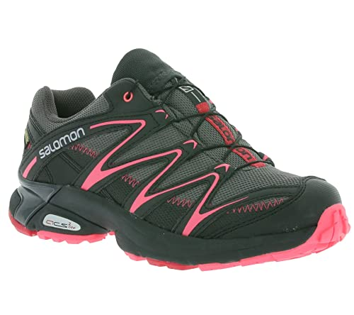 Salomon XT Salta Gore-Tex Guantes Mujer Trail Running - Zapatos de deporte Guantes Gris 381429, color Negro, talla 36: Amazon.es: Zapatos y complementos