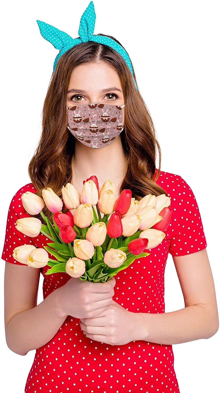 YOYIK 𝐌𝐚𝐬𝐜𝐚𝐫𝐢𝐥𝐥𝐚𝐬 Desechables, Pascua de Resurrección Adultos Facial Bufanda Protector Bufanda, Moda Cómodo Daily Outdoor, 10/20/30/50/100 Unidades