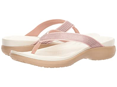 16a0c0804304 Image Unavailable. Image not available for. Color  Crocs Women s Crocband  Platform Clog Barely Pink Pepper 6 ...