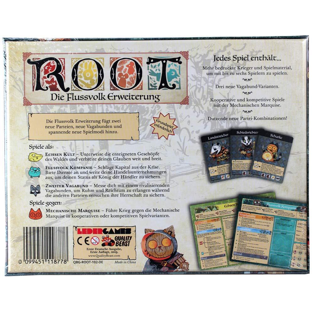 Quality Beast Root: Flussvolk Erweiterung - Deutsch: Amazon.es ...