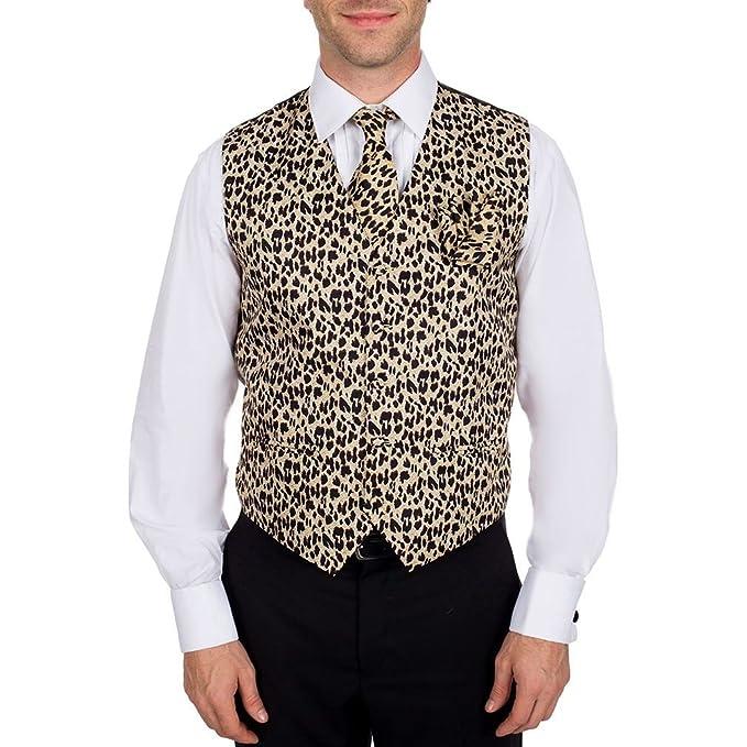 Amazon.com: De los hombres café – marrón – negro Leopard ...