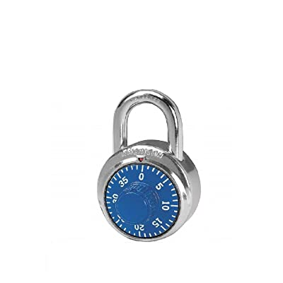 (1) A400 Combination Padlock Center 1 Dial Ss Military Issue