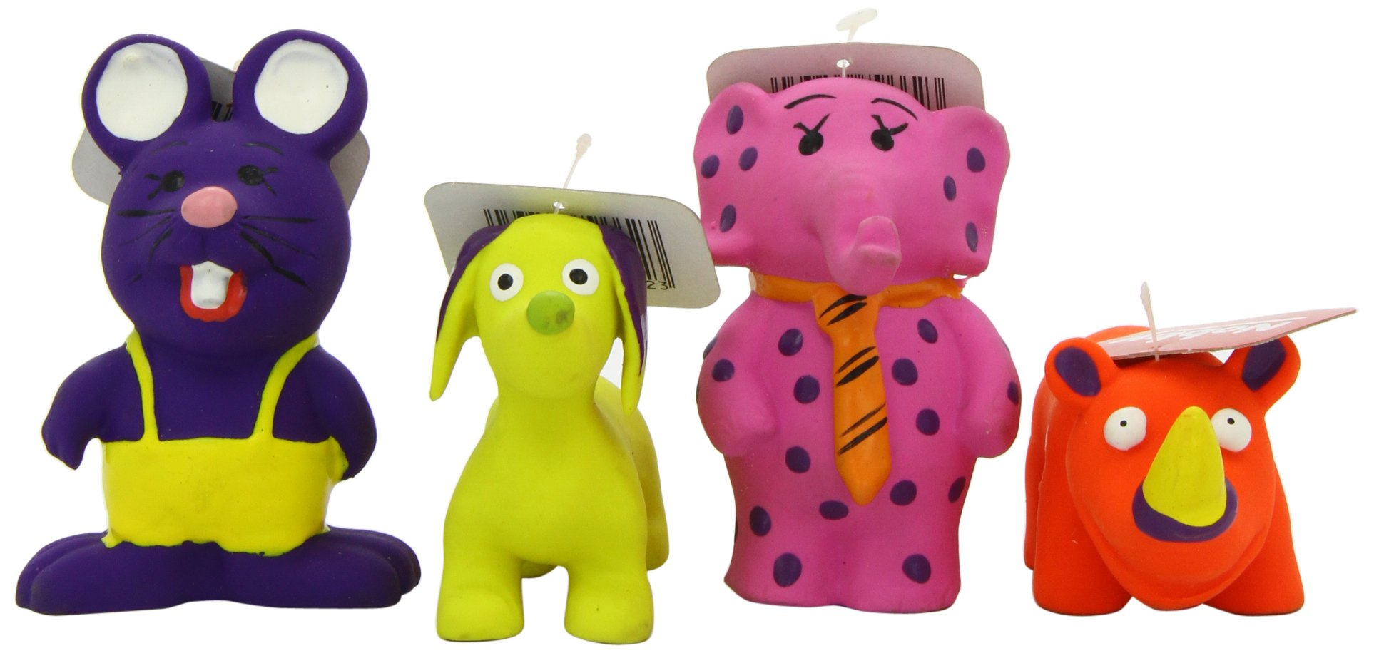 Pet Product Nobby Latex Figures Assorted Mix A 9-10cm x 24
