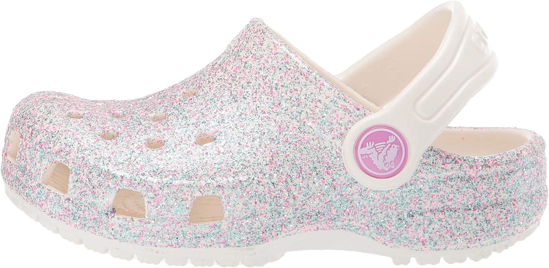 Sabots Femme Crocs Classic Glitter Clog Kids